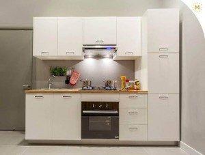 Tủ Bếp Gỗ Công Nghiệp 006C