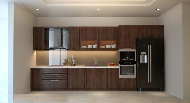 Mẫu tủ bếp hiện đại 10