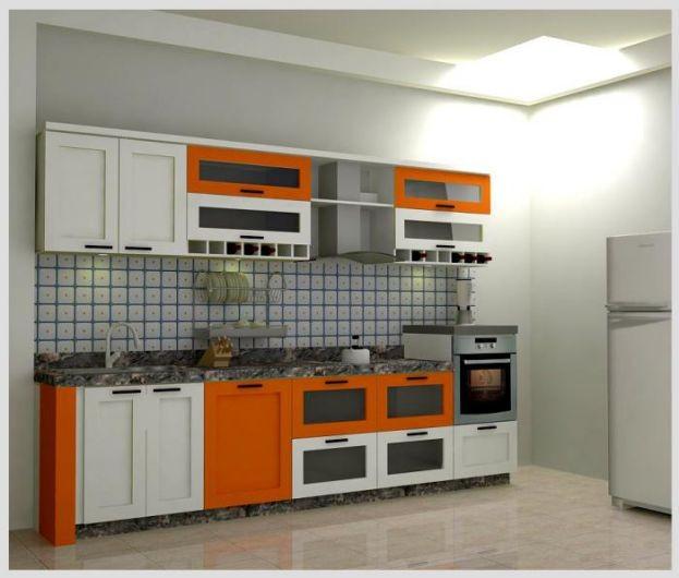 Mẫu tủ bếp hiện đại 11