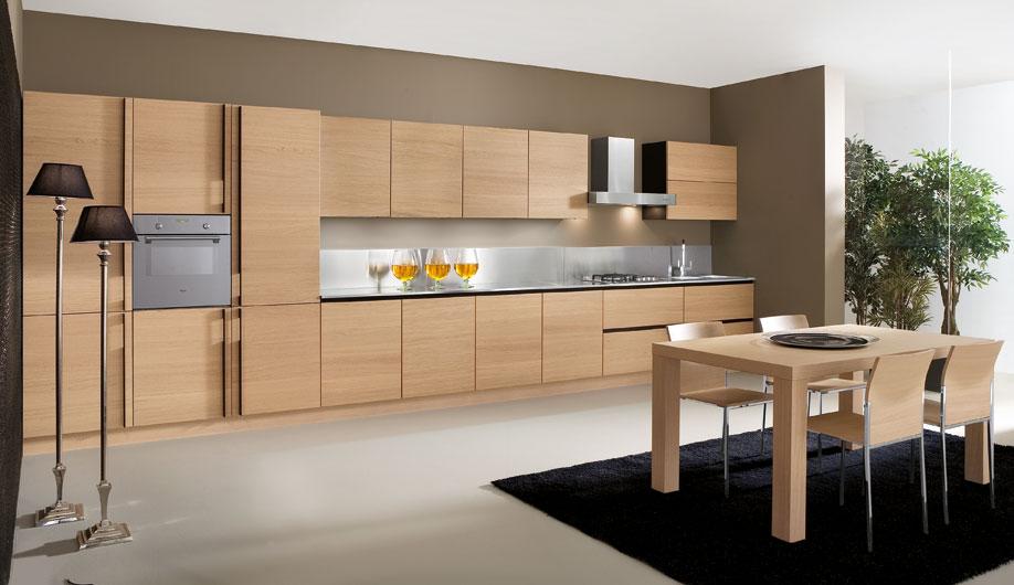 Mẫu tủ bếp hiện đại