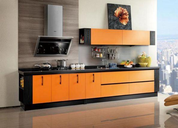 Mẫu tủ bếp hiện đại 6