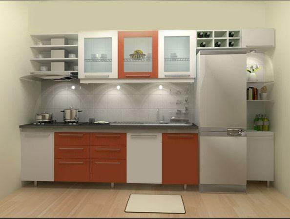 Mẫu tủ bếp hiện đại 7
