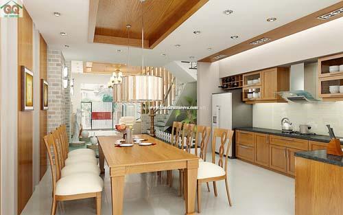 Đồ gỗ nội thất nhà phố 22