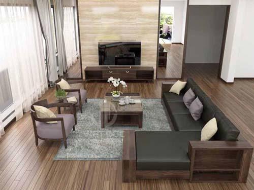 Đồ gỗ nội thất nhà phố 54