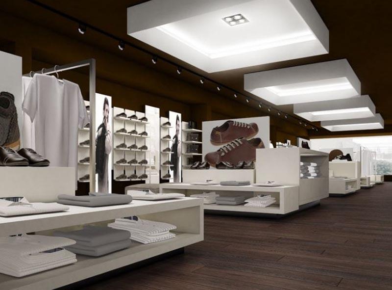 Thiết kế nội thất cửa hàng 1