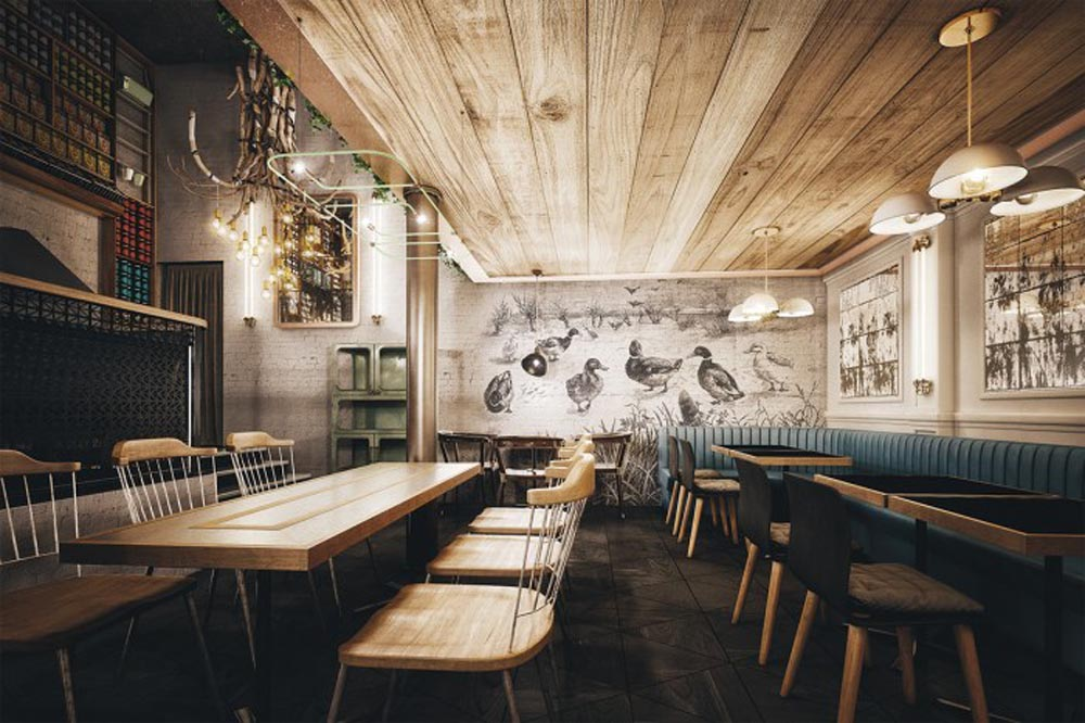 Thiết kế nội thất nhà hàng 3