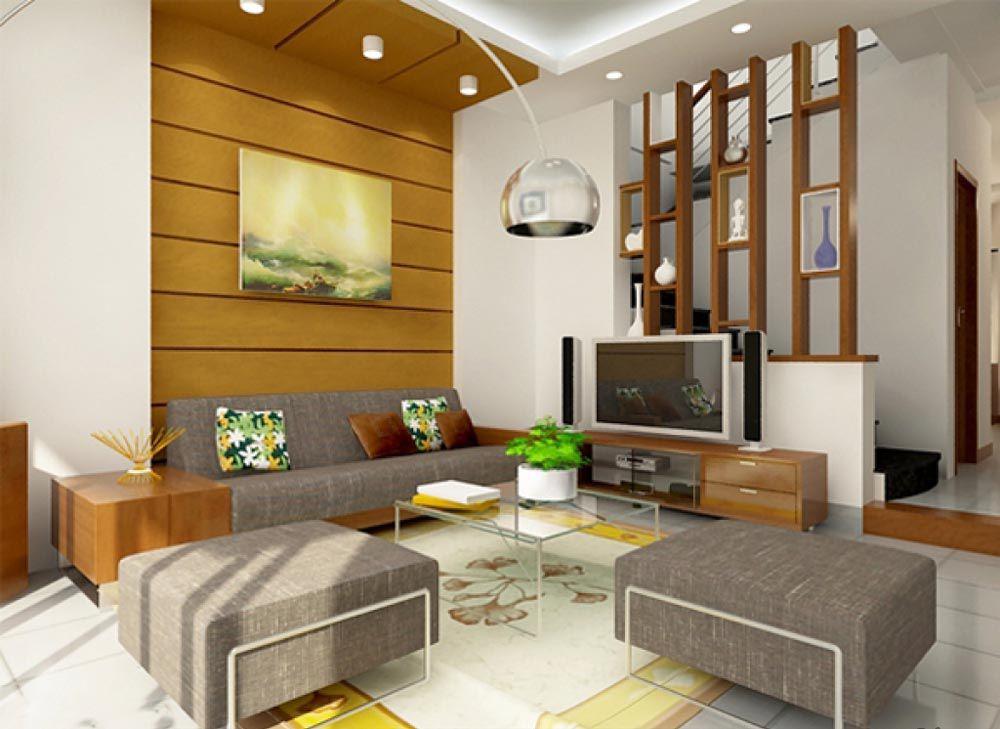 Trang trí phòng khách đẹp giá rẻ 001