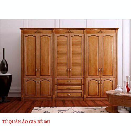 Tủ quần áo giá rẻ 063