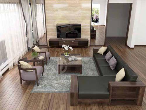 Đồ gỗ hóc môn phòng khách 034