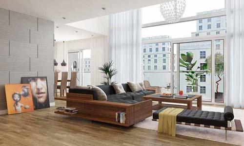 Đồ gỗ hóc môn phòng khách 040