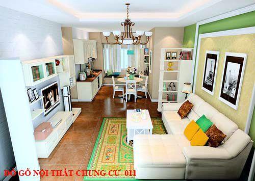 Đồ gỗ nội thất chung cư 011