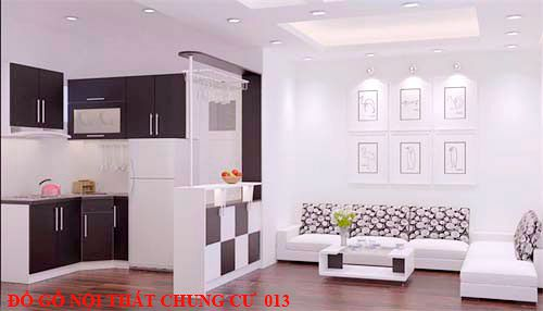Đồ gỗ nội thất chung cư 013