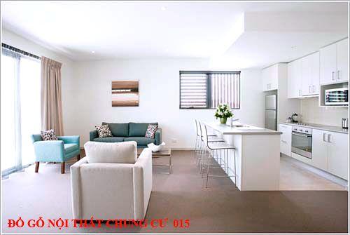 Đồ gỗ nội thất chung cư 015