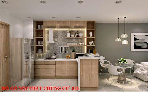 Đồ gỗ nội thất chung cư 018