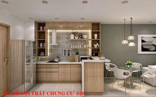 Đồ gỗ nội thất chung cư 019