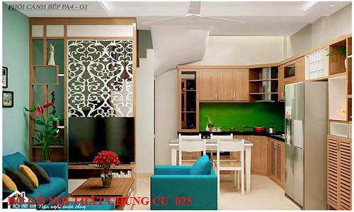 Đồ gỗ nội thất chung cư 025