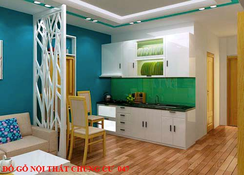 Đồ gỗ nội thất chung cư 047