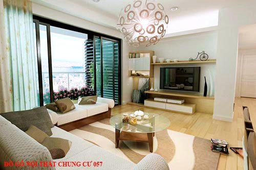Đồ gỗ nội thất chung cư 057