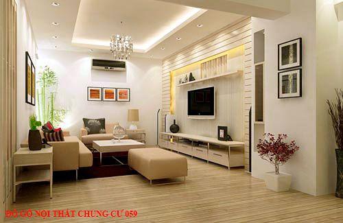 Đồ gỗ nội thất chung cư 059