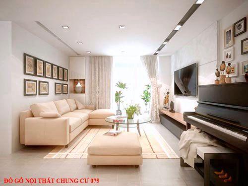 Đồ gỗ nội thất chung cư 075
