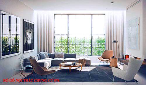 Đồ gỗ nội thất chung cư 076