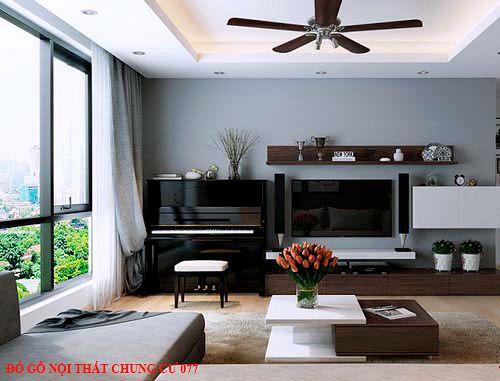 Đồ gỗ nội thất chung cư 077