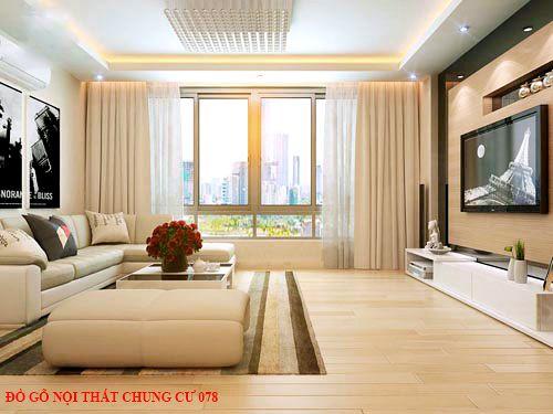 Đồ gỗ nội thất chung cư 078