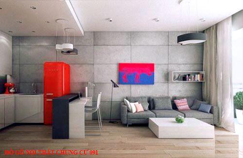 Đồ gỗ nội thất chung cư 091
