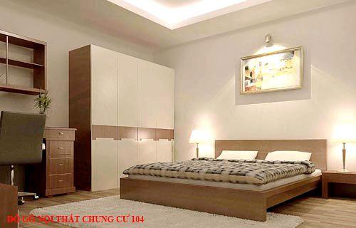Đồ gỗ nội thất chung cư 104