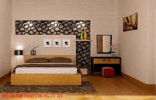 Đồ gỗ nội thất chung cư 113