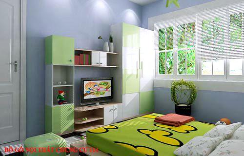 Đồ gỗ nội thất chung cư 114