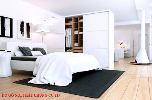 Đồ gỗ nội thất chung cư 119