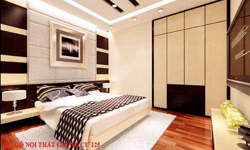 Đồ gỗ nội thất chung cư 125