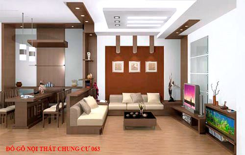 Đồ gỗ nội thất chung cư 63