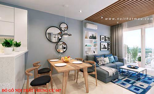 Đồ gỗ nội thất chung cư 67