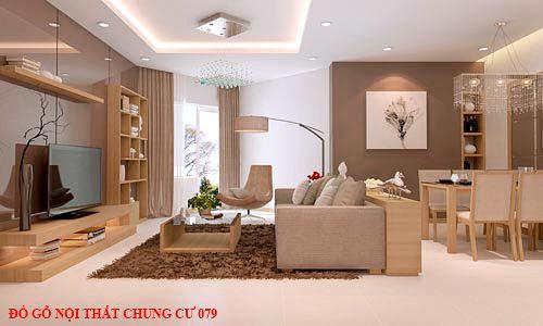Đồ gỗ nội thất chung cư 79
