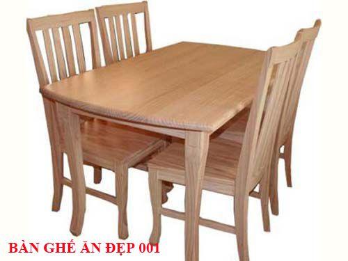 Bàn ghế ăn đẹp 001