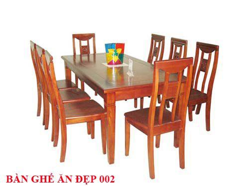 Bàn ghế ăn đẹp 002