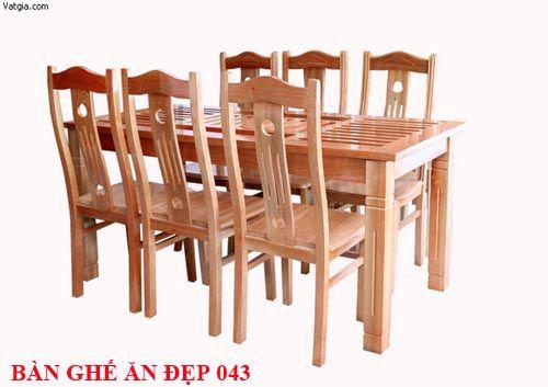 Bàn ghế ăn đẹp 043