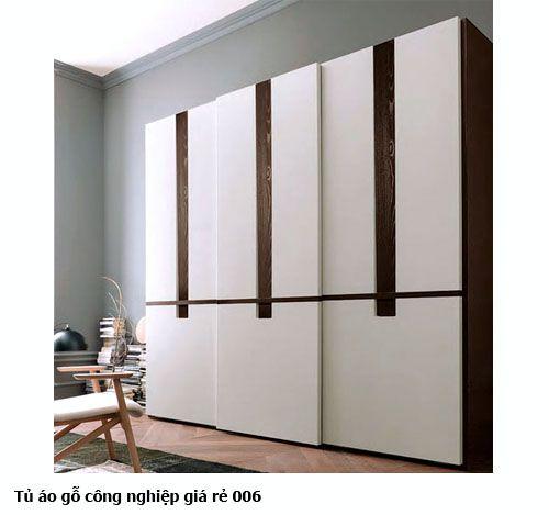 Tủ áo gỗ công nghiệp giá rẻ 006