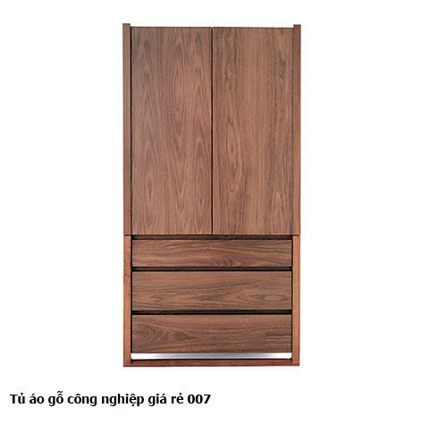 Tủ áo gỗ công nghiệp giá rẻ 007