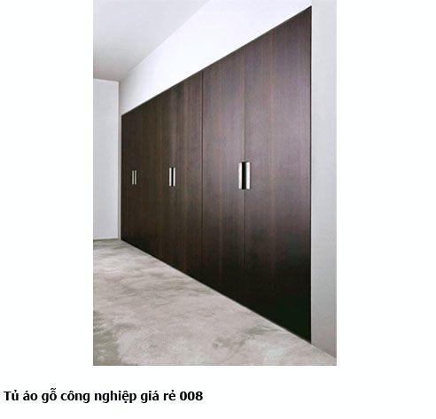 Tủ áo gỗ công nghiệp giá rẻ 008