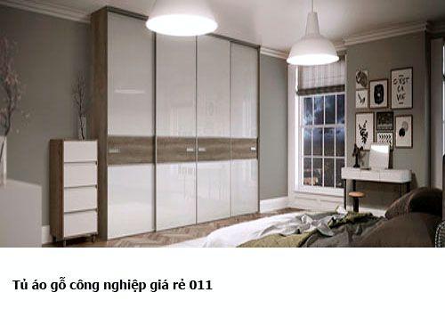 Tủ áo gỗ công nghiệp giá rẻ 011