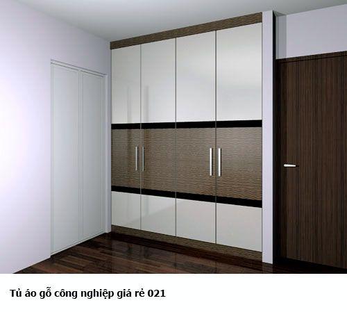 Tủ áo gỗ công nghiệp giá rẻ 021