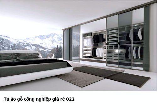 Tủ áo gỗ công nghiệp giá rẻ 022