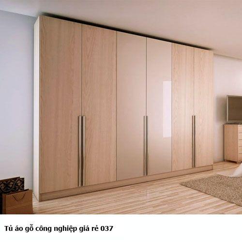 Tủ áo gỗ công nghiệp giá rẻ 037
