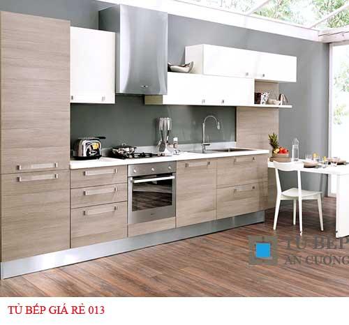 Tủ bếp giá rẻ 013
