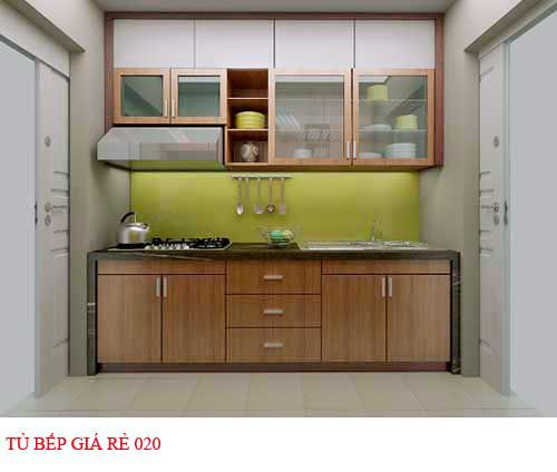 Tủ bếp giá rẻ 020