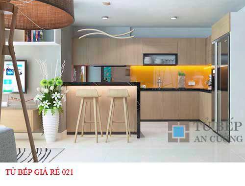 Tủ bếp giá rẻ 021