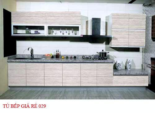 Tủ bếp giá rẻ 029